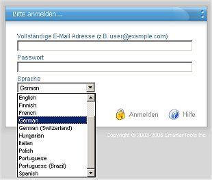 SmarterMail 4 WebMail Login