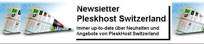 Newsletter PleskHost Switzerland
