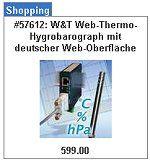 W&T 57612 IP Web-Thermometer, Hygrometer und Barometer kaufen