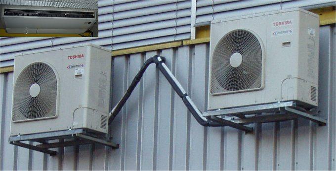 Zwei Toshiba Fix-Klimaanlagen