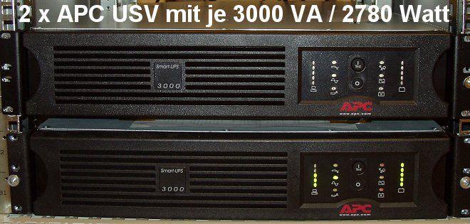 APC SmartUPS 3000 VA / 2780 Watt