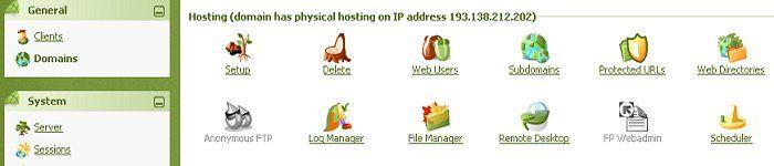 Plesk Webhosting bietet Ihnen alle Möglichkeiten