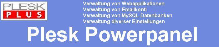 Plesk Controlpanel - Ihre perfekte Domain-Verwaltungsumgebung